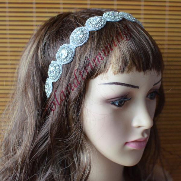 free shipping 2015 new rhinestone crystal stone bridal hair accessories headbands ray326(China (Mainland))