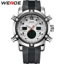 WEIDE Multifunction Sport Watch Digital Waterproof 3ATM Men's Quartz Movement Analog Digital Date Alarm Military Men Stopwatch(China (Mainland))