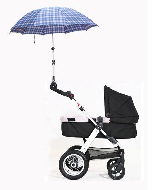 Umbrella Держатель для Ребенка Коляска Регулируемая Umbrella Кронштейн Для Велосипедов Коляска коляска коляска Аксессуары кронштейн нажатием
