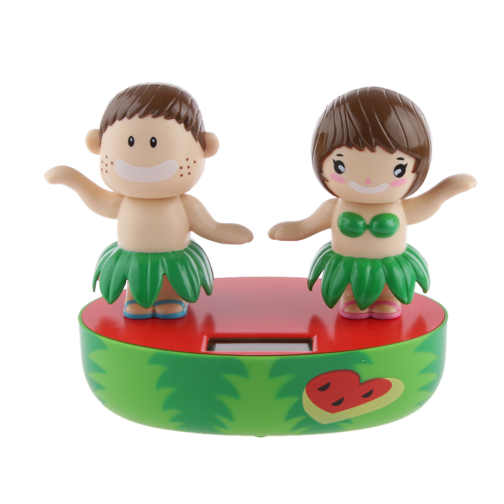 Solar Powered Dancing Flip Flap Car Desk Dancer Bobble Toy Dancing Hula Kids For Car Decoration Novelty Happy Dancing Solar Toys(China (Mainland))