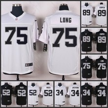 HOT Elite men Oakland Raiders 89 Amari Cooper 75 Howie Long 52 Khalil Mack 34 Bo Jackson 32 Marcus Allen 28 Latavius Murray D-4(China (Mainland))