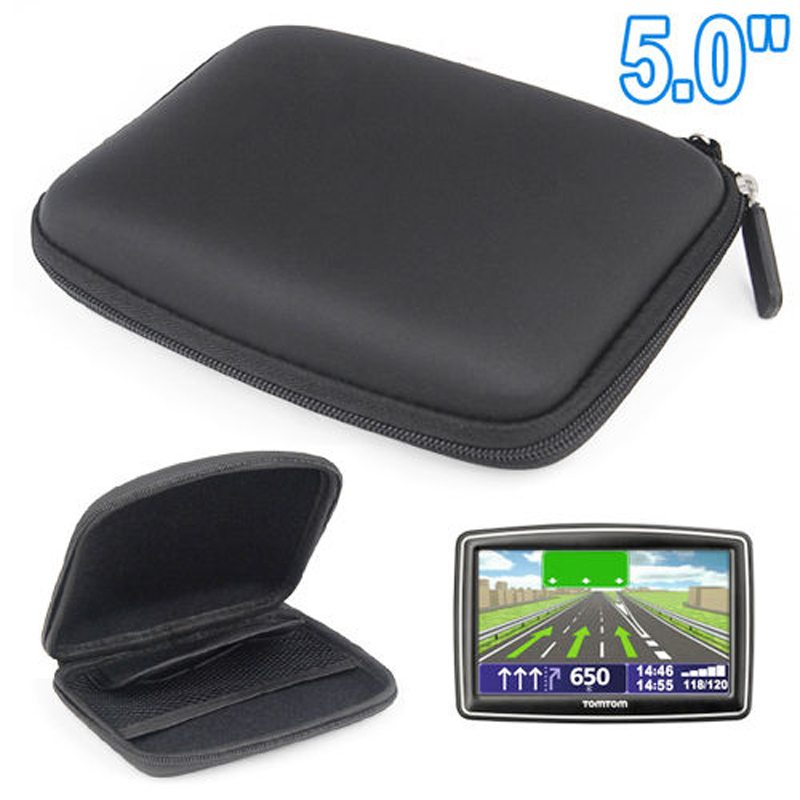 2015 New Arrival Waterproof gps case 5 inch TomTom GPS Storage Case Free shipping Hard EVA Case(China (Mainland))