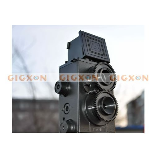 DIY LOMO Camera 35MM Film Recesky Twin lens reflex camera(China (Mainland))