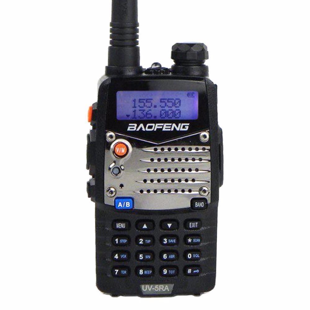 Baofeng UV-5RA Dual-Band 136-174/400-520MHz FM Ham Amateur Two-way Ham Radio Walkie Talkie(China (Mainland))