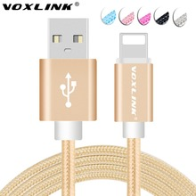 VOXLINK 8 pin USB Cable For iPhone 5 5s 6 6s 7 6s plus iPad mini 1m 2m 3m 0.5m Fast Charging Mobile Phone Cables