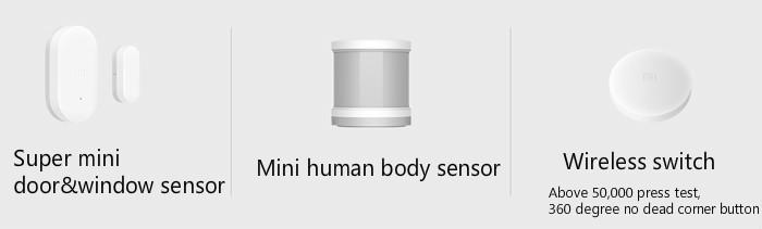 image for Brand 2016 Newest Original Xiaomi Smart Home Kit Gateway Door Window S