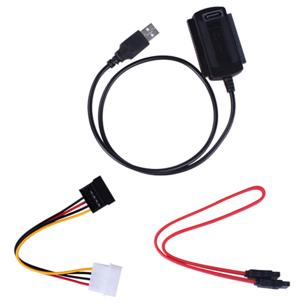 Free Shipping New Arrival SATA/PATA/IDE Drive to USB 2.0 Adapter Converter Cable for 2.5 / 3.5 Inch Hard Drive(China (Mainland))