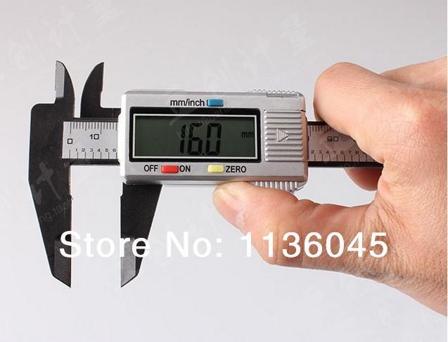 ree shipping 150 mm 0.1 Digital lcd CALIPER VERNIER MICROMETER digital calliper retail drop - ShangHai Construction Equipment Trade Co., Ltd. store