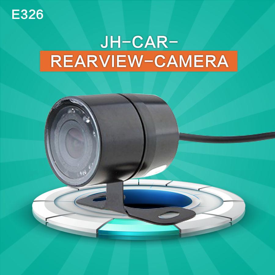 Free Shipping E326 8 LED Waterproof Color CMOS Car Rear View Reverse Backup Camera(China (Mainland))