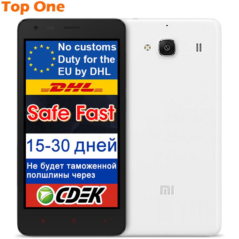 "Original Xiaomi Redmi 2 Redmi2 Red Rice 2 Redmi 2S Redmi2S Qualcomm 410 MSM8916 1.2Ghz 4G LTE 4.7"" IPS cell phone(China (Mainland))"