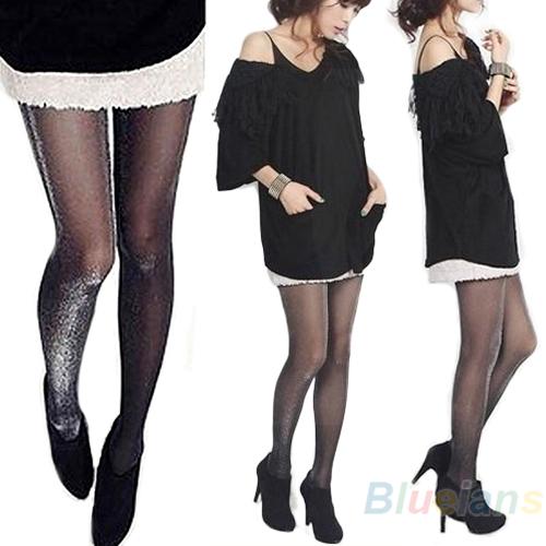Shiny Pantyhose Glitter Stockings Womens Glossy Tights hot