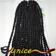 Synthetic Hair Braids Senegalese Twist Crochet Hairstyle Free Shipping Havana Mambo Braiding 1 Piece Only Hair For Afro Girl