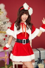 Original single spot Christmas night games installed DS lead dancer costumes stage clothes Christmas roles