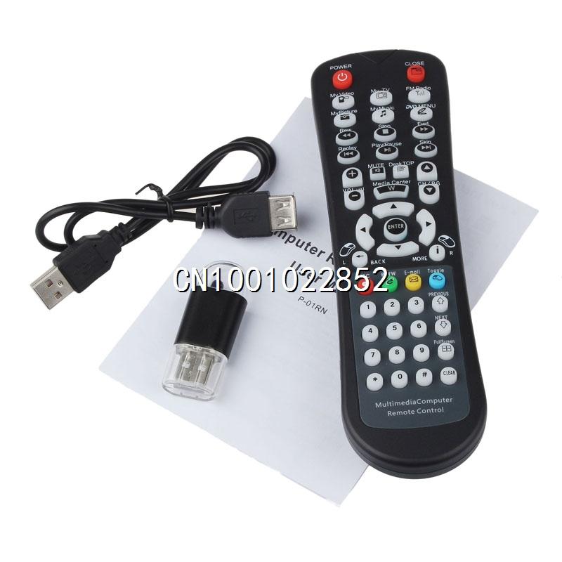 2015 Excellent USB Wireless Media Desktop PC Remote Controller For XP Vista 7(China (Mainland))