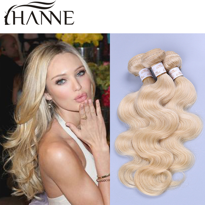 Russian blonde virgin hair bundles 613 human hair blonde 4 pcs 12-30 inch cheap wholesale price honey blonde weave remy 613 hair