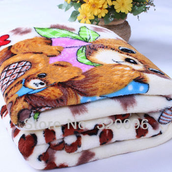 Free Shipping Flannel Fleece Blanket  Baby Blanket Super Soft Bedding Factory Sales 85*105CM