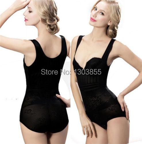 Hot Sell Woman Waist Cincher Tummy Corset Full Body Control Shaper Slimming Bodysuit Tops Underwear XL