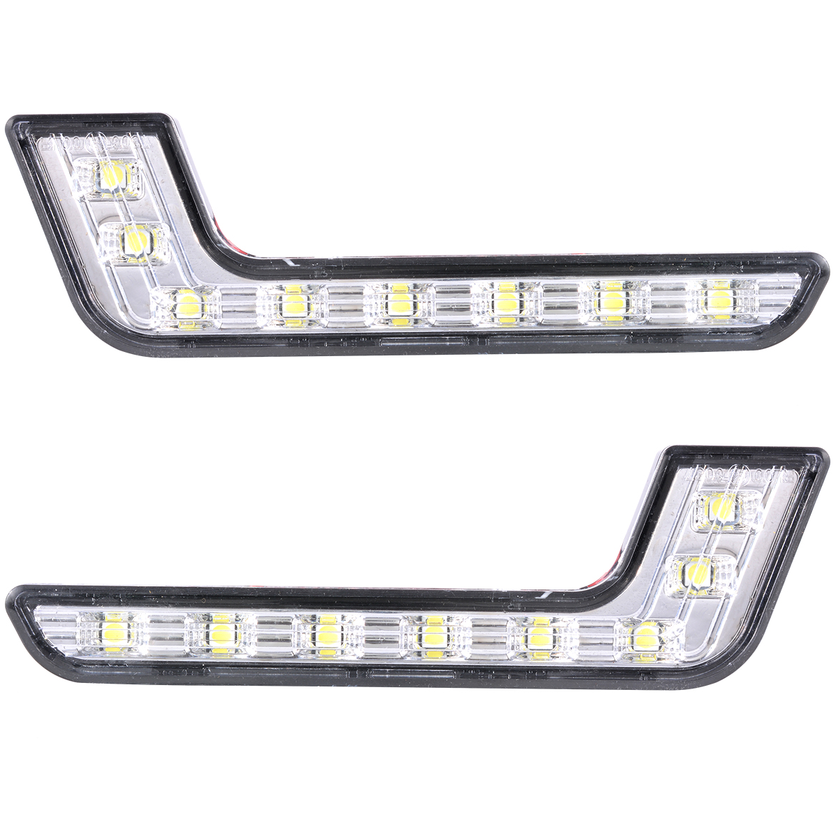2x 6000k Car Daytime Running Drl Bright Driving Day Light Head Lamp 8 Led White Ma145
