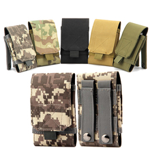 New Nylon Military Tactical Army Phone Pouch Case For iPhone 5/5s 6/6S 6/6 Plus Accessory Bag For Samsung S3 S4 S5 S6/S6 Edge