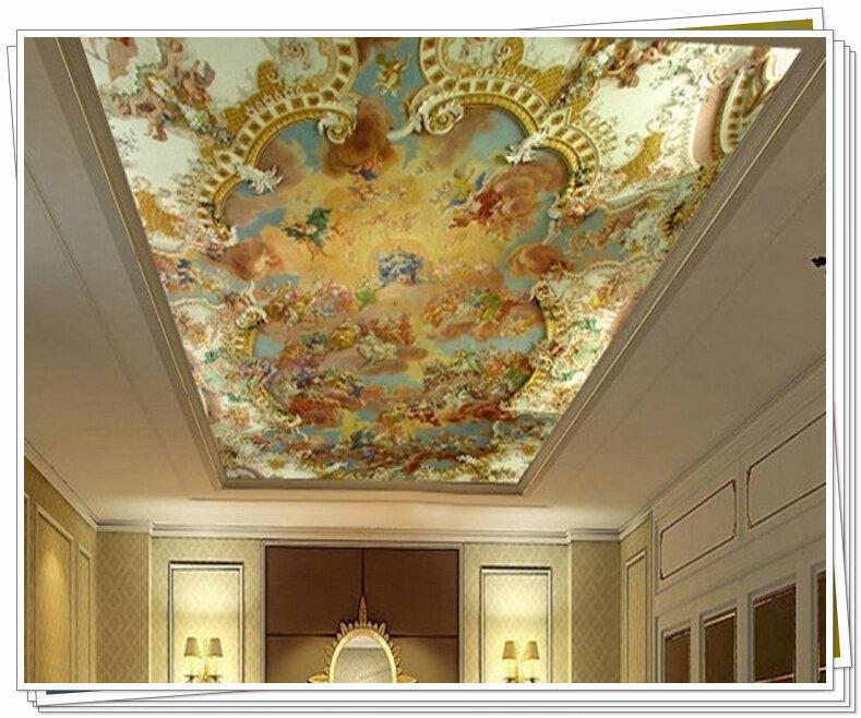 Фотообои на потолок 3d фото