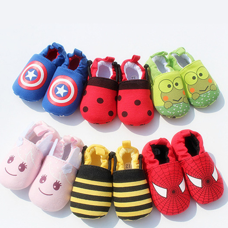Cute Novelty Newborn Baby Boys Infant Shoes Winter Soft Cotton Baby First Walker Baby Shoes Boy Toddler Keep Warm Thick shoes(China (Mainland))