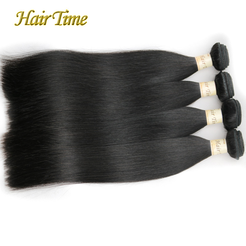 Queen Hair Products 6A Grade Brazilian Virgin Hair Straight 4pcs lot Cheap Brazilian Hair Weave Bundles Brazilian Straight Hair