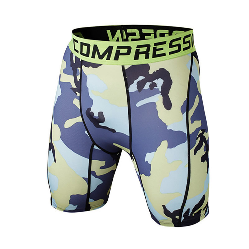 GYM Shorts Mens Brand Compression 2016 Summer Bermuda Camouflage Sports Surf Running Basketball Shorts Men Bodybuilding Shorts(China (Mainland))