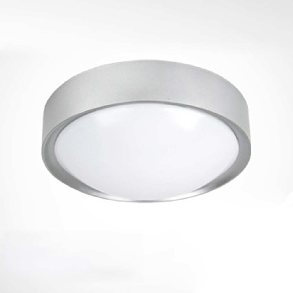 Simple Designed Round Gray Iron&Acrylic E27 Surface Mounted Ceiling Light Elegant High Quality Ceiling Lamp for Foyer Hall(China (Mainland))