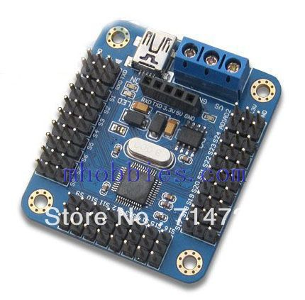 Wholesale Mini USB 16 channel servo controller board for Arduino robot project