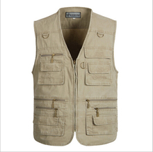 Multifunction Men's Vest With Many Pockets Quick Dry Sleevless Jacket Waistcoat Plus Size 6xl,7xl Outdoor Hunting Travel Clothes(China (Mainland))