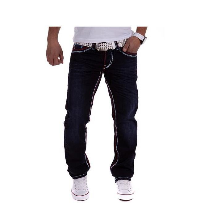 Скидки на #3935 2016 Мода жан тонкий Pantalones hombre homme Случайный Хип-хоп джинсы Мотоцикла Denim байкер джинсы Тощий Дизайнерские джинсы