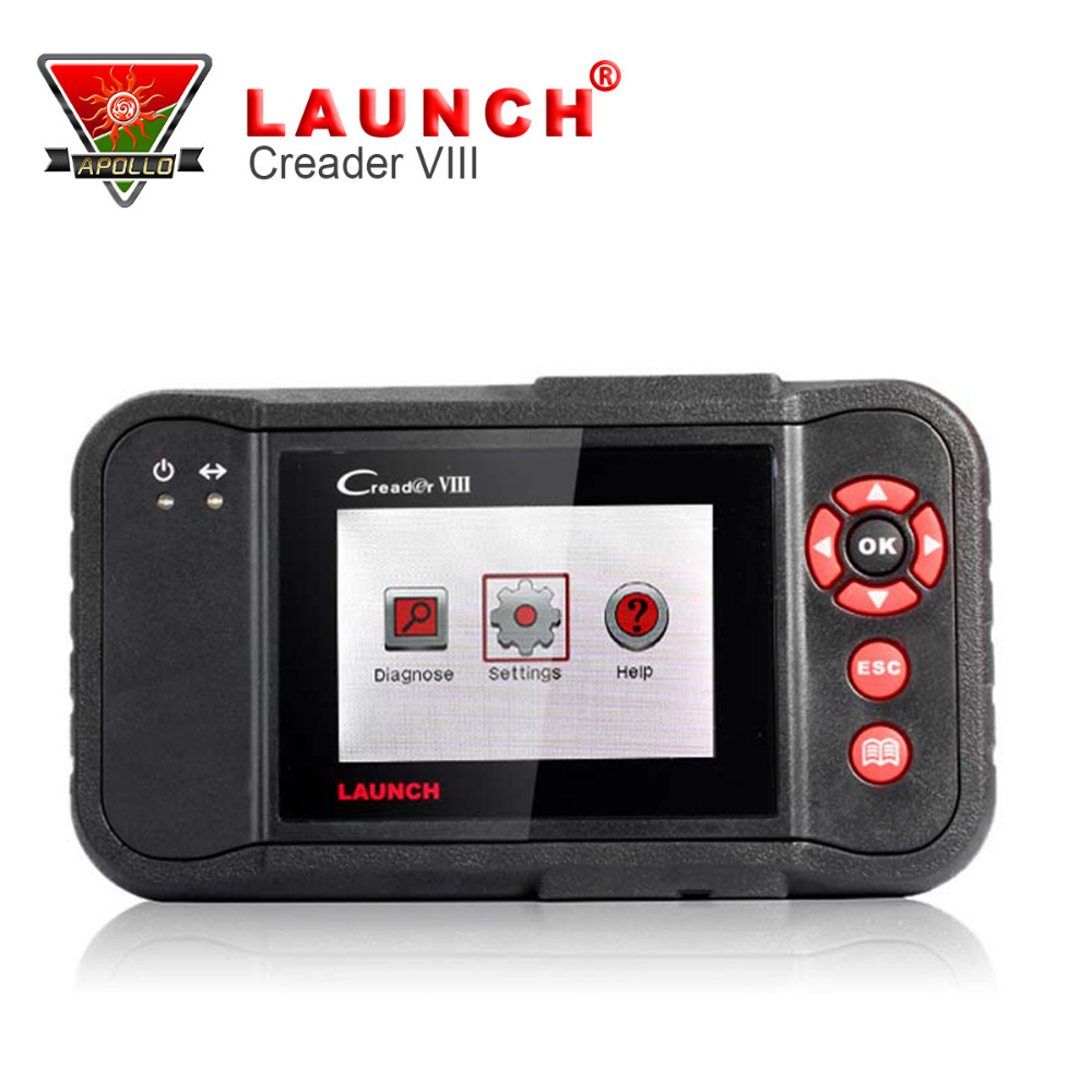 [Launch Distributor] Original Launch Creader VIII Code Reader 8 4 Systems Engine,Transmission,ABS,Airbag(China (Mainland))