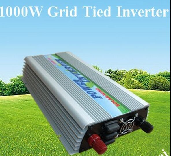 free shipping 1000W Grid Tied Inverter 10.5V~28VDC to 110VAC(China (Mainland))