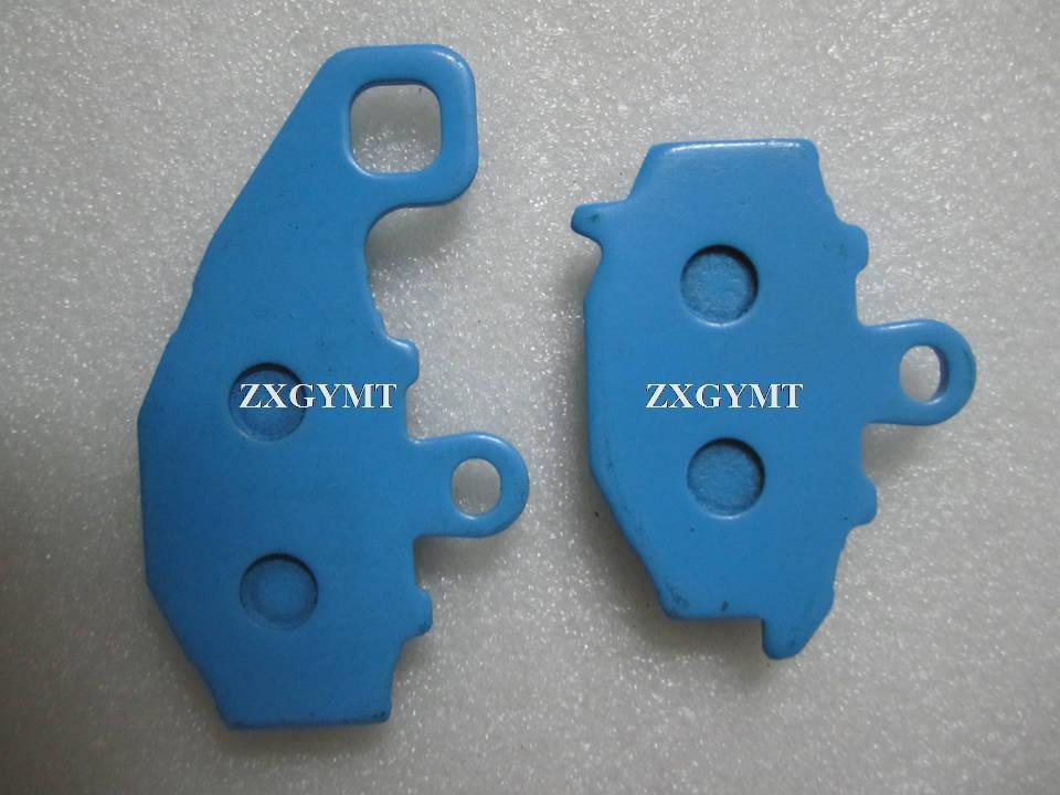Brake Pads fit KAWASAKI ZZR 400 (ZX 400 N1/N2/N3/N4/N5/N6/N7) 93-99 Rear 1Pair (2Pads)(China (Mainland))