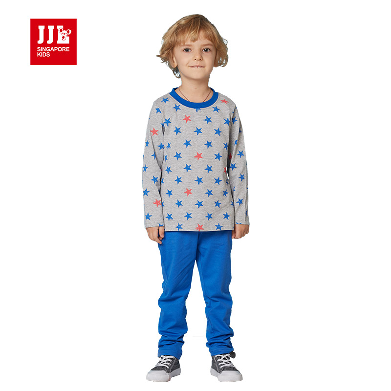 2016 brand good quality baby boy clothing set toddler boys clothing suit 2pcs children suit baby set long sleeve size 4-11y(China (Mainland))