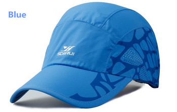 Quick Dry Light Weight Man Running Caps Hats Summer Style Mujer Running Outdoor Sports Gorras Cycling Hiking Golf Waterproof