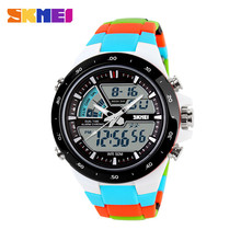 2016 Women Sports Watches Waterproof Fashion Casual Quartz Watch Digital Analog Military Multifunctional Women's Wrist Watches(China (Mainland))