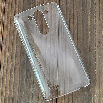 Crystal Transparent Back Protector hard Case skin cover Lg G3 mini D722 D725 D728 D724 support diy - iTrimming store