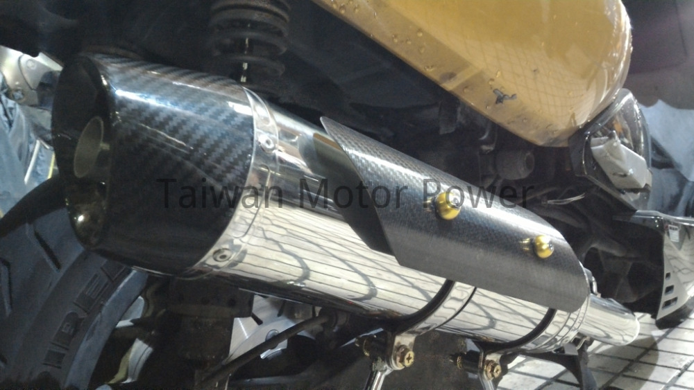 Taiwan Power Sheep HIGH PERFORMANCE EXHAUST fit KYMCO Xciting 500 400 300 250 K-XCT Downtown 350 G-DINK FULL SYSTEM Muffler Pipe(China (Mainland))