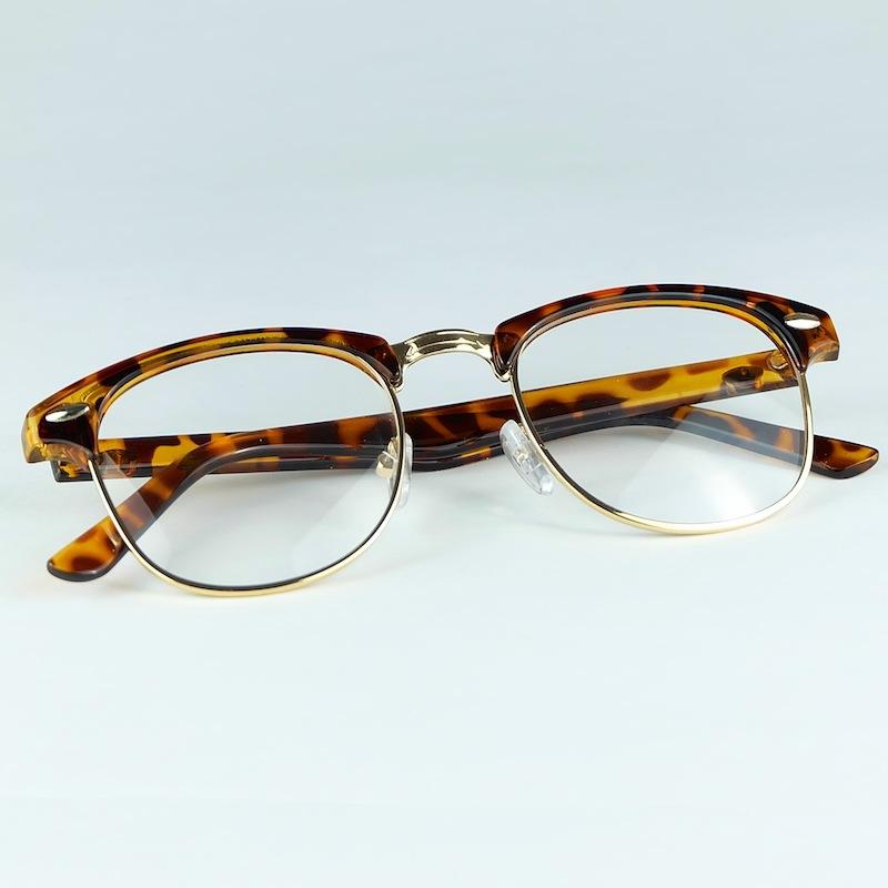 2016 Fashion Eyeglasses Half Plastic Mixed Metal Full Rim ...