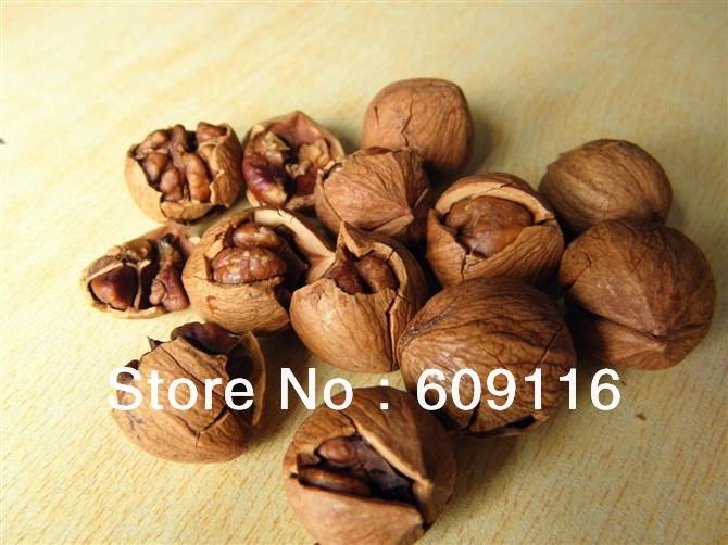 Grate taste new cargo speciality nuts fresh small walnut cream hand peel pecan 500g