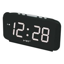 Buy Big numbers Digital Alarm Clocks EU Plug AC power Electronic Table Clocks 1.8 Large LED Display home decor clock for $18.02 in AliExpress store