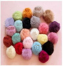 1 pc Imitate rabbit fur Hair Ring Super Elastic Hair Bands Women Hair Accessories Hair Donut 5 colors(China (Mainland))