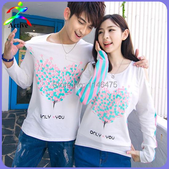 new arrival autumn fashion cute korean couple clothes