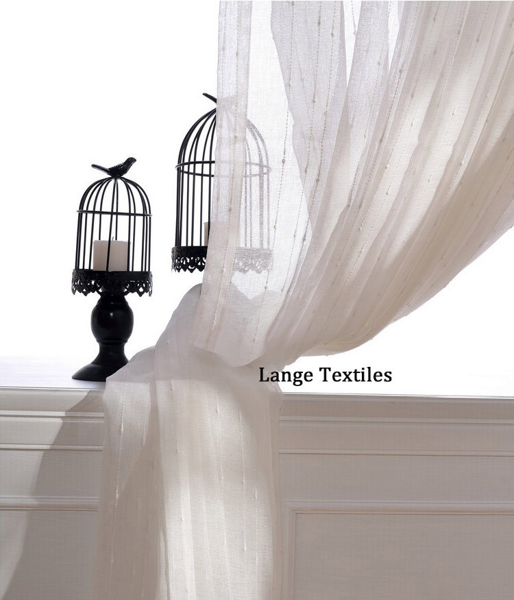 free shipping cheap white voile tulle curtains fabric ready made sheers window modern curtains living room divider draperies(China (Mainland))
