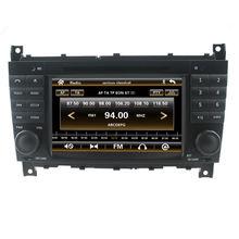 Для вздрагивания dvd-плеер для mercedes-benz c-класса GPS navigationTape радио Bluetooth 3 г SD DVD / VCD / CD / CD-R / 6 CD virtua / дополнительная RDS