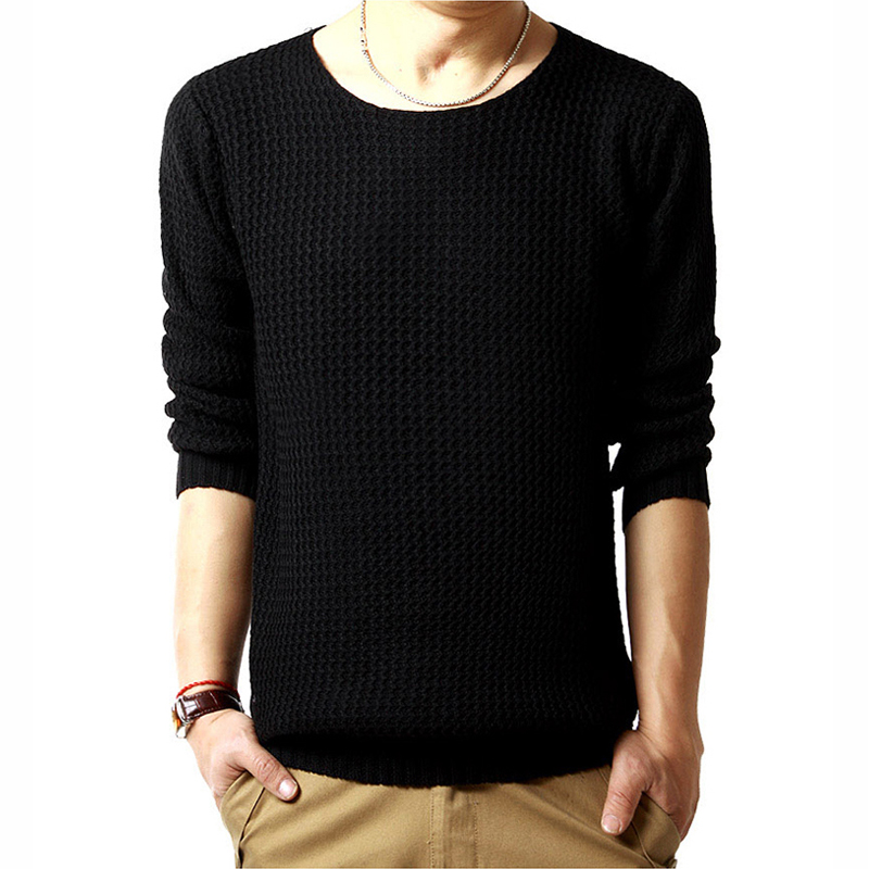 New High Quality Flat Knitted Winter Slim Fashion pullover Sweater Casual Male O-neck Long-sleeved Knitted Men Stylish Soft(China (Mainland))