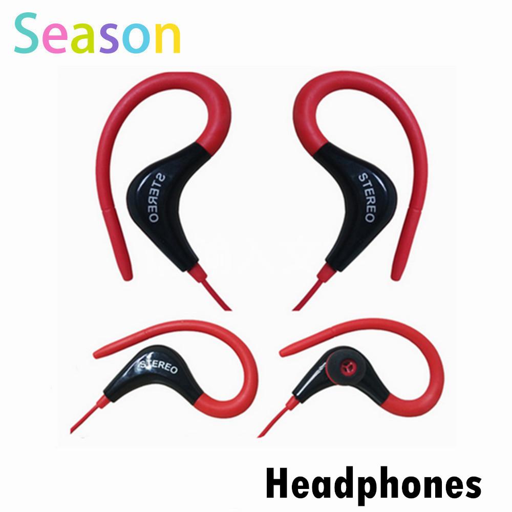 Ear hook font b sports b font Earphones Wholesale 3 5mm font b Headphone b font