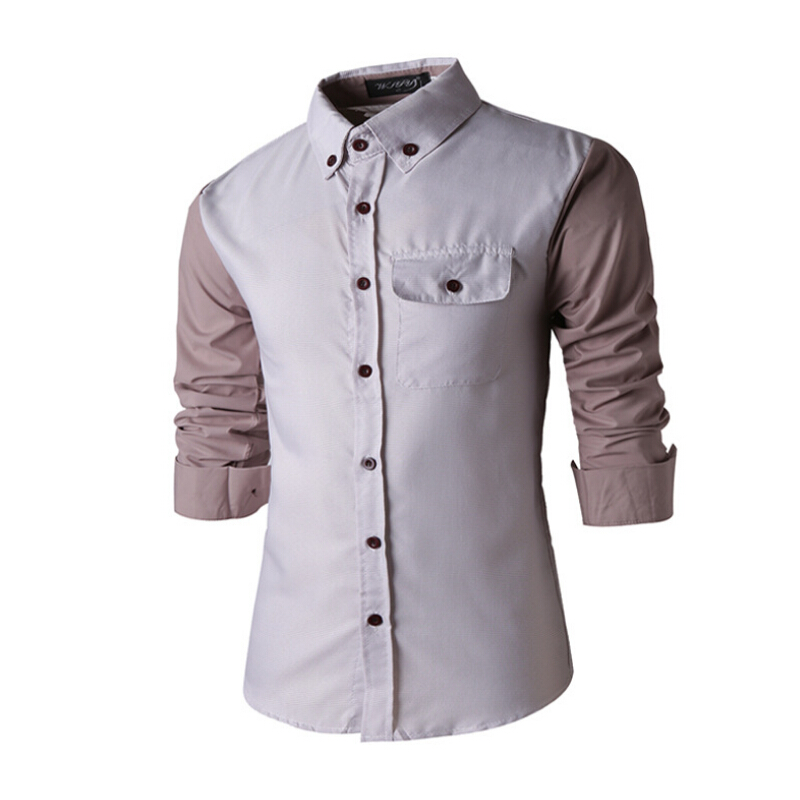 m 2xl mens shirts fashion 2015 spring high end men s
