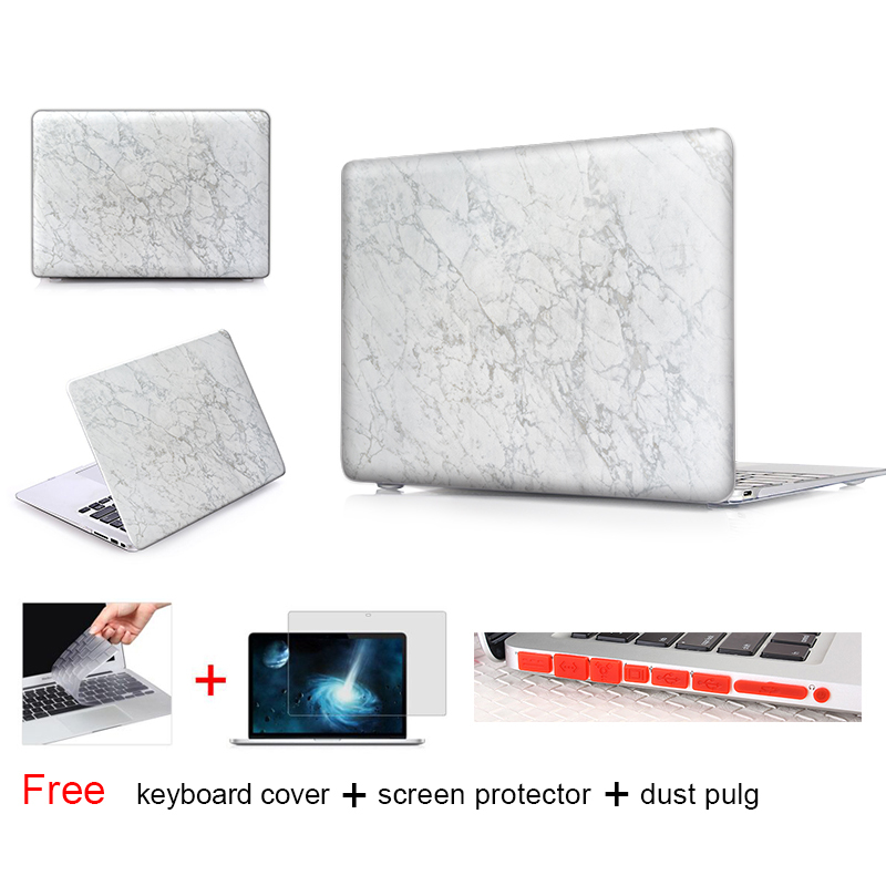 Marble Wall Texture Notebook Bag Frosted Matte Surface Case For Macbook Pro Case For Mac Book Air 13 Case Protective Shell Skin(China (Mainland))